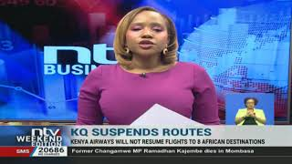 KQ reduces number of its destinations by eight African countries