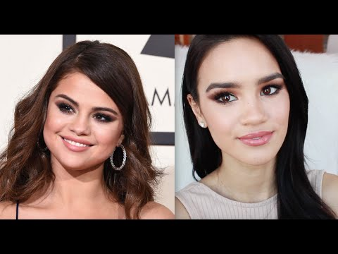 Selena Gomez 2016 Grammys Makeup Tutorial