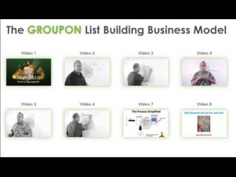 Groupon Business Model Training