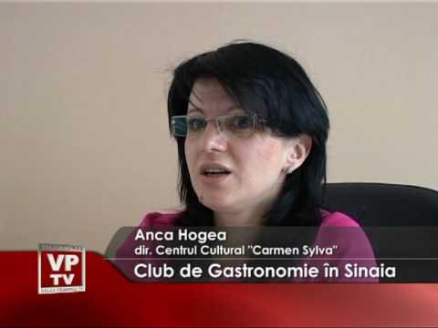 Club de Gastronomie în Sinaia
