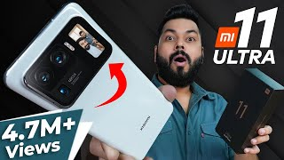 Mi 11 Ultra Unboxing & First Impressions   The Real Ultra Flagship?! ⚡120Hz,120X Zoom,SD888 & More