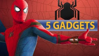 Die coolsten GADGETS von SPIDER MAN HOMECOMING!