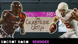 Michael Crabtree's legendary moment against Texas deserves a deep rewind thumbnail