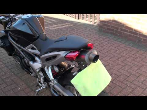 Benelli TNT 1130 HP Corse Titanium Exhaust Sound