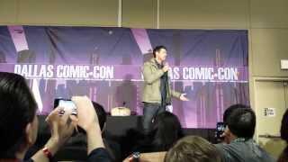 Karl Urban Panel - SFX Dallas 2/9/14 (Part 1)