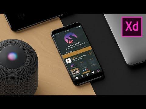 How to Design & Prototype a Mobile App - Adobe Xd Tutorial
