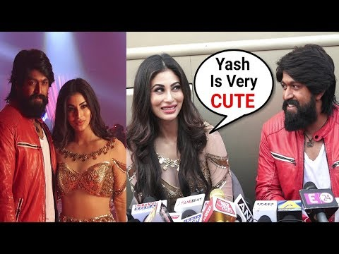 Download Mouni Roy Item Song GALI GALI With Yash In KGF Movie | Kolar Gold Fields | Full Interview HD Mp4 3GP Video and MP3
