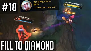 League of Legends Fill to Diamond but the Chad Janna is U N L E A S H E D