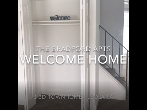 3 Bedroom Townhome Tour