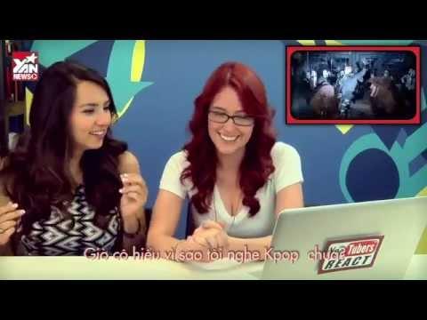 Khó đỡ trước phản ứng của Youtubers khi xem Kpop, hài bể bụng