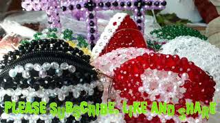 Making beaded coin purse Part 1,beaded and  craft fashion