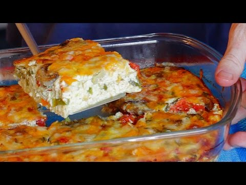 Video Easy Egg Bake Recipe