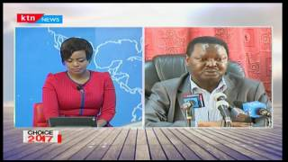 Francis Nyenze says that Kambas got a raw deal in NASA Agreement