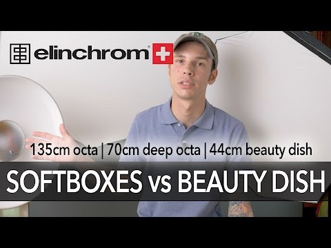 Elinchrom Softboxes & Beauty Dish Compared
