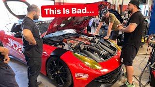 BAD NEWS For DDE Twin Turbo Ferrari F12 Update ...