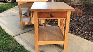Matts End Tables - Part 1
