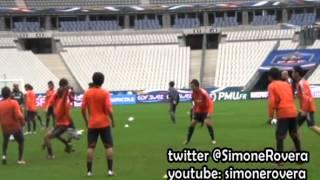 JapantrainingStadedeFrance-サッカー日本代表-アルベルト・ザッケローニ