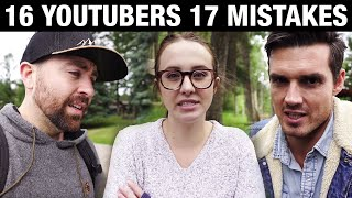MISTAKES Youtubers Make and how to AVOID them on your Channel