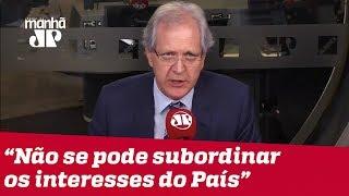 Não se pode subordinar os interesses do País ao berreiro das redes sociais | Augusto Nunes