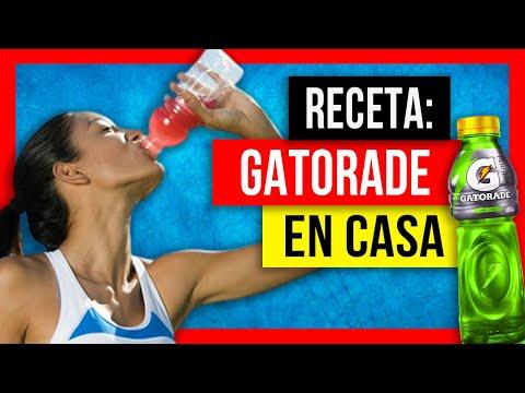 Cómo hacer una bebida isotónica o deportiva (tipo Gatorade) en casa