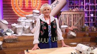 Babcia Janina pokazuje jak zrobić perfekcyjny makaron [Masterchef Junior]