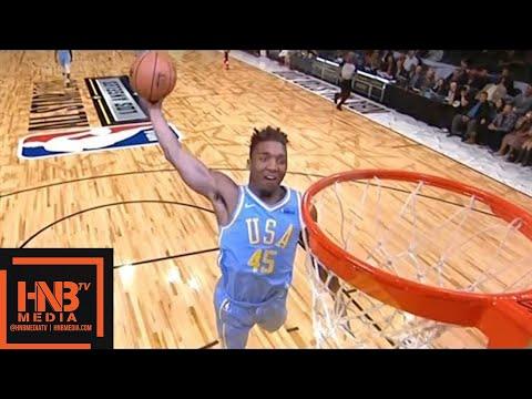 Team World vs Team USA 1st Qtr Highlights / Feb 16 / 2018 NBA Rising Stars Game
