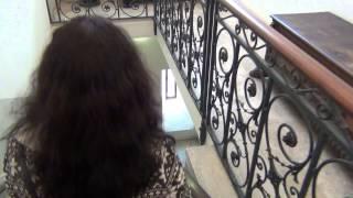 Лестницы и коридоры в Замке Святого Ангела.