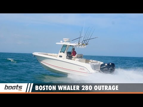 Boston Whaler 280 Outrage video