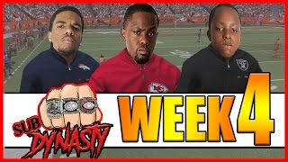 THE BIGGEST L IN NFL HISTORY!! - Sub Dynasty Ep.6 | Madden 17 Connected Franchise
