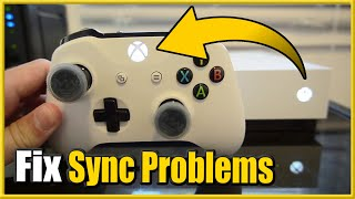 How to FIX Xbox One Controller Won't Sync and Blinking Lights (Easy Method)