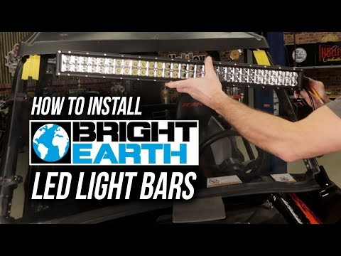 How To Install Bright Earth LED Light Bars