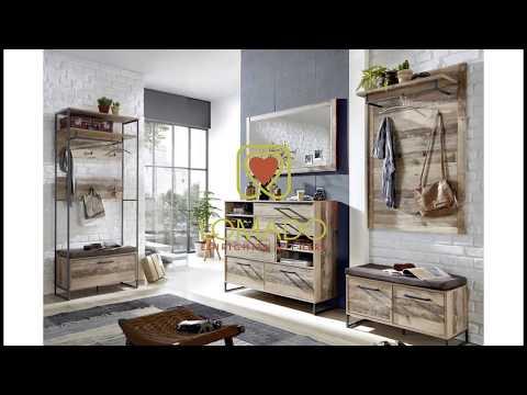 Lomado Vintage Garderoben-Set RIAD-36 Möbel online kaufen