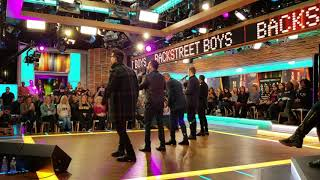 "BSB GMA Soundcheck ""Chances"" 12519"