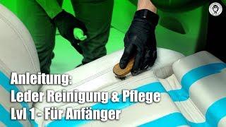 Anleitung: Leder Reinigung und Pflege | Colourlock | Lvl 1 - für Anfänger