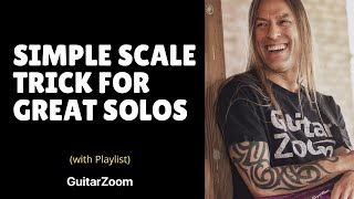 Simple Scale Trick for Great Solos | Creative Soloing Workshop