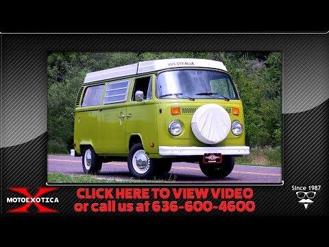 Video of '78 Westfalia Camper - QXKW