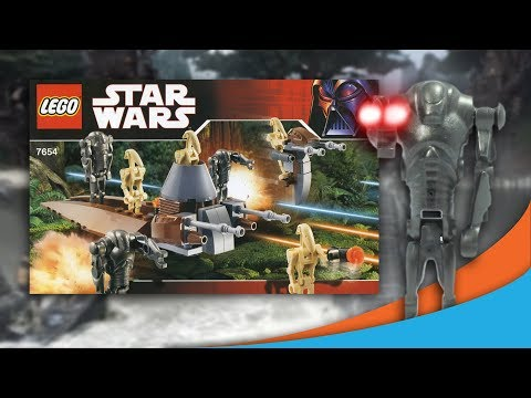 Lego Star Wars 2007 Droids Battle Pack Animated!   7654