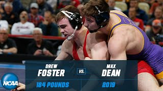 Drew Foster vs. Max Dean: FULL 2019 NCAA Championship match at 184 pounds