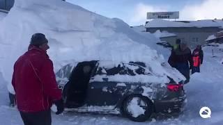 Neve recorde na Europa
