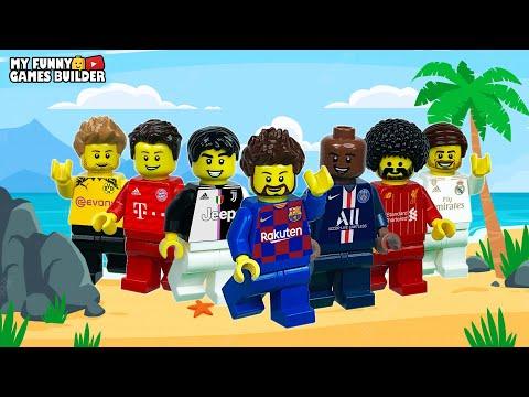 Pre-Season 2019/20 • Lego Football & Lego Beach Soccer Stop Motion Film (preview 2020)