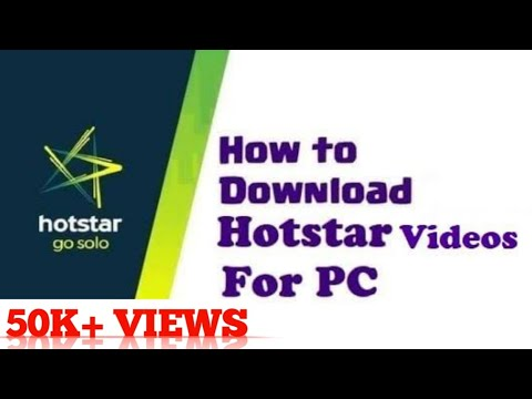 How To Download || Hotstar Video in  Your PC