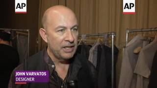 John Varvatos shows off his new collection in NY