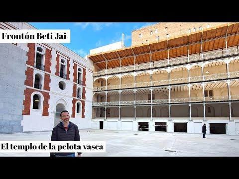 Fronton Beti Jai  Madrid Cómo Visitarlo