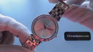 87900b479bcd Women s Michael Kors Mini Darci Steel Glitz Watch MK3364