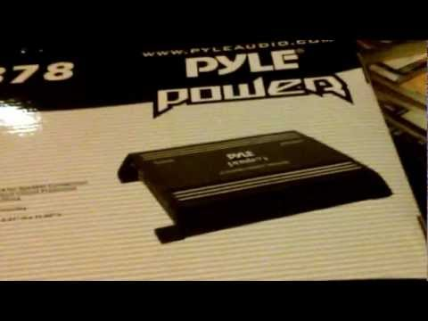 Pyle Audio 2000 watts Review