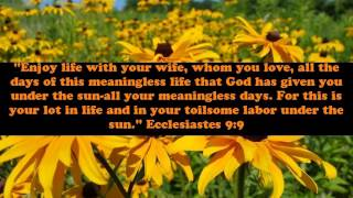 Bible verses about marriage and love