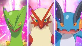 Tráiler de dibujos animados para Pokémon Rubí Omega y Pokémon Zafiro Alfa