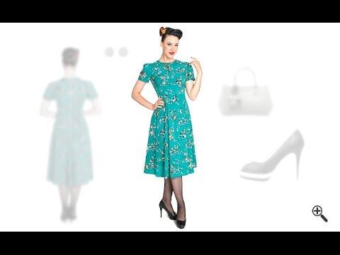 Kleider 60er Stil kaufen + 3Rockabilly Outfit Ideen für Alida