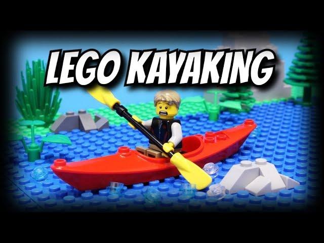 Lego Kayaking