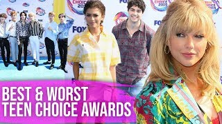 Best and Worst Dressed at the Teen Choice Awards 2019 (Dirty Laundry)